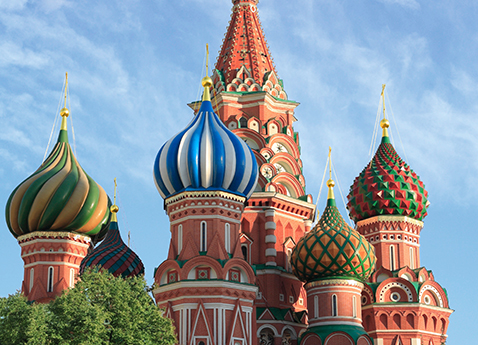 AKB4JK St. Basil's cathedral, Red Square, Moscow, Russia